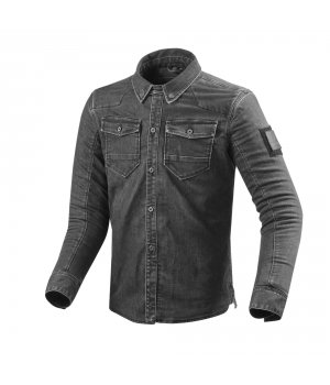 REV'IT Overshirt Hudson - letná bunda - CORDURA denim