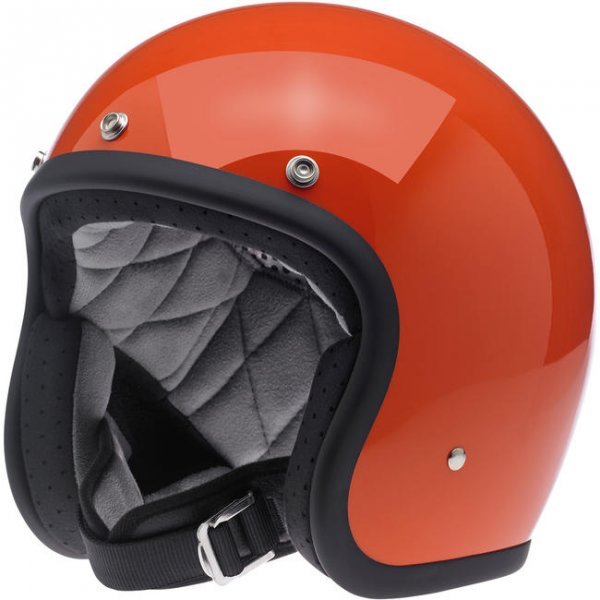 Biltwell Bonanza Helmet Gloss Hazard Orange