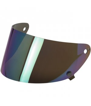 Biltwell Gringo S Flat Shield Rainbow Mirror