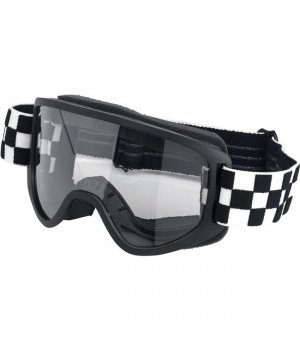 Biltwell Moto 2.0 Goggle Checkers Black