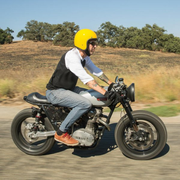 Biltwell Bonanza Safe-T Yellow
