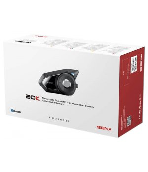 SENA 30K - Motorcycle Bluetooth Communication System with Mesh Intercom